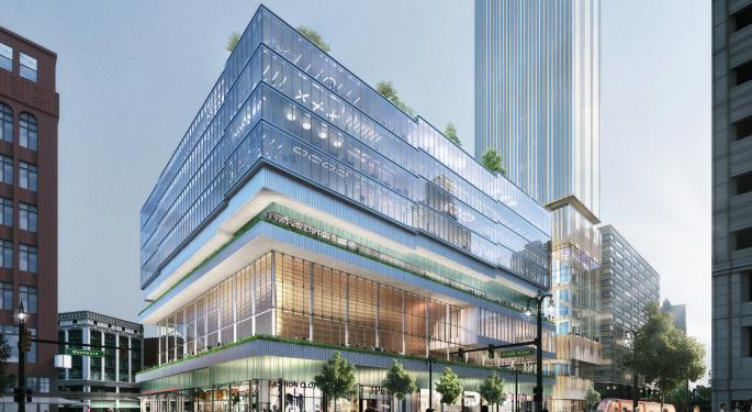 Detroit's Tallest Building Breaks Ground: 'This Is Going To Be A Site Of Our Recovery'