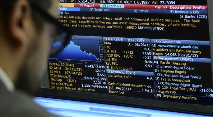 Stocks Close Lower On Economic Concerns In Europe