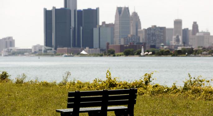 Why Detroit Won't Open A 'Floodgate' Of Municipal Bankruptcies
