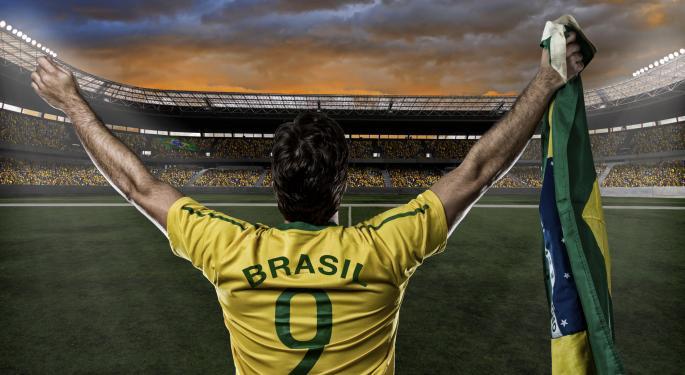 4 ETFs To Help Bet On Brazil's Soccer Team EWZ, BRF, EWZS, BRXX