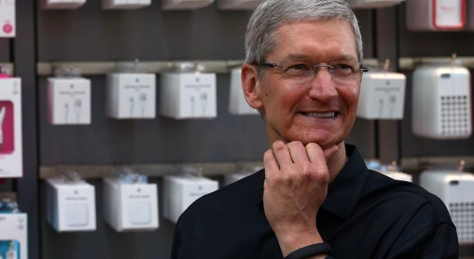 What is Apple's Tim Cook Hinting at for 2014?
