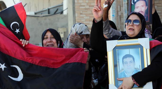 Protests In Libya Boost Brent