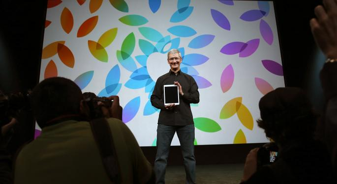SLIDESHOW: Apple's First TV, New iPads And More From The Fourth Week Of October