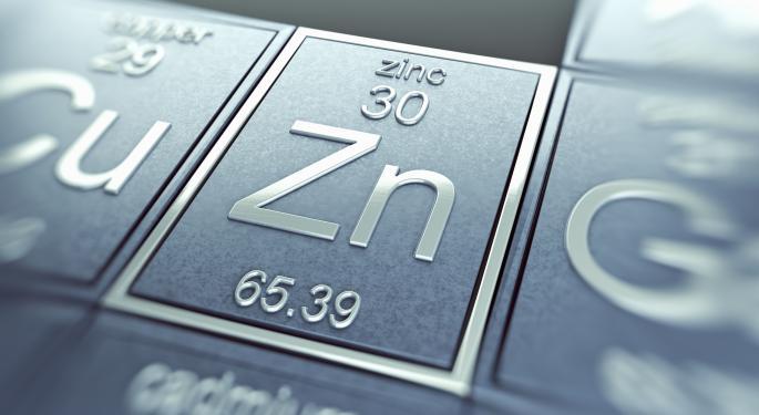 Goldman Still Bearish On Commodities, Except For Zinc