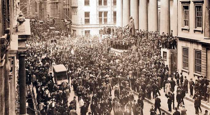 This Day In Market History: The Panic Of 1907