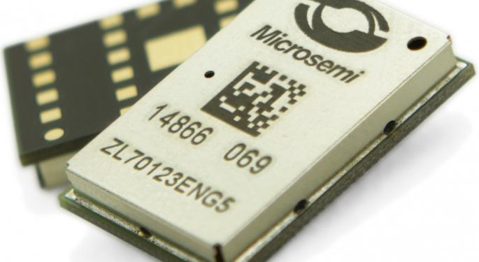 A Bidding War For Microsemi Is 'Unlikely,' KeyBanc Says
