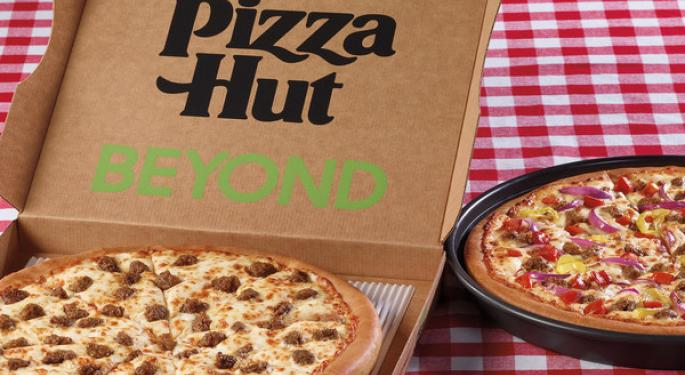 Pizza Hut First National Chain To Offer Plant-Based Topping