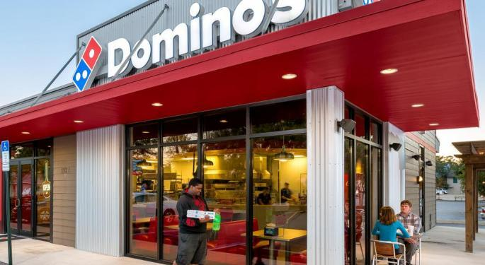 Why Domino's Stock Is Trading Lower Today