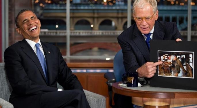 David Letterman's New Netflix Talk Show Kicks Things Off With Barack Obama