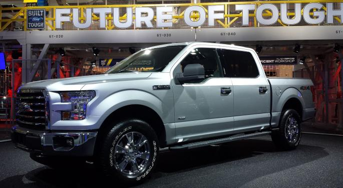 Ford CEO Mark Fields On The Success Of The F-150