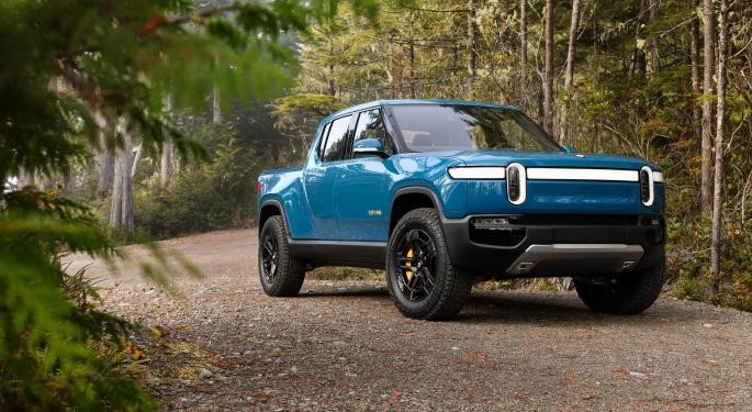 Rivian Raises Another $2.5B In Bid For Market's First Fully Electric Pickup Truck