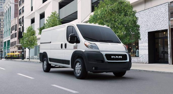 Alphabet's Waymo, Fiat Chrysler Deepen Partnership To Develop Self-Driving Light Commercial Vehicles