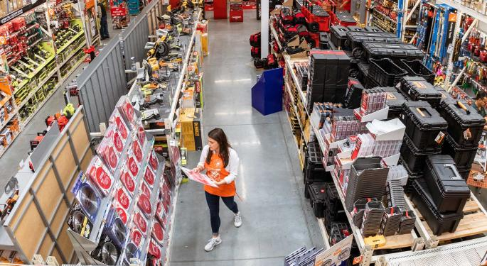 Wall Street Weighs In On Home Depot's Blowout Q2, BofA Upgrades Stock