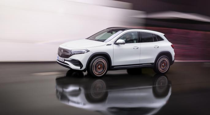 Mercedes-Benz Unveils Entry-Level EQA Electric SUV: What You Need to Know