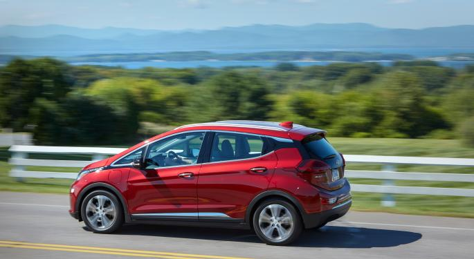 GM Recalls 68,000 Chevy Bolts Over Battery Fire Concerns