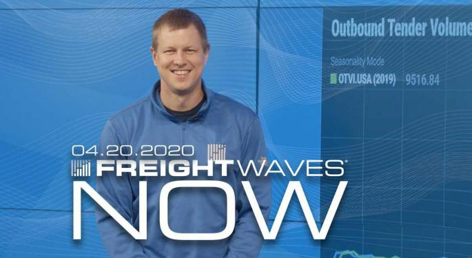 Volumes Hit A Floor Over The Weekend – FreightWaves NOW