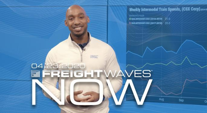 Rails Continue To Impress With Cost Management – FreightWaves NOW
