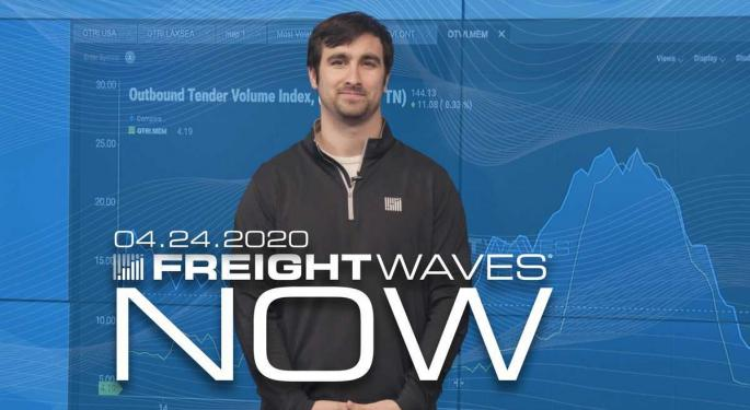 Volume Levels See Another Small Uptick – FreightWaves NOW