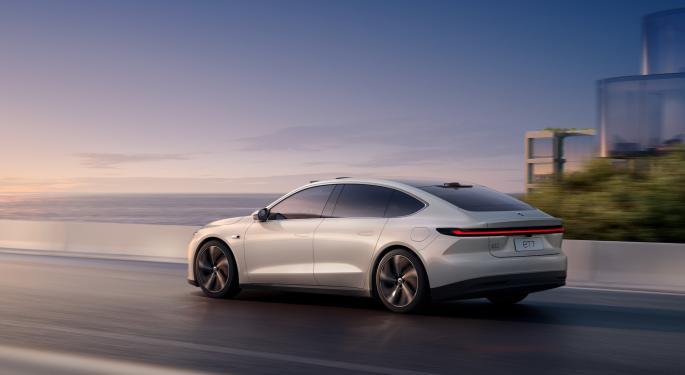 La conducción autónoma de Nio 'prioriza la seguridad'