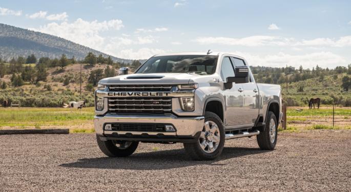 GM pausará la producción de sus pickup la próxima semana