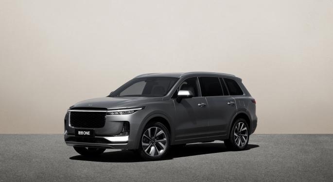 Li Auto busca recaudar 1.900M$ en la bolsa de Hong Kong