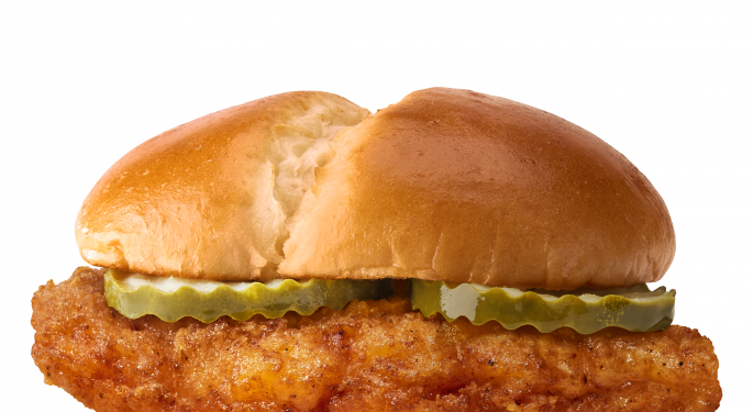McDonald's Chicken Sandwich Takes Flight Among New Offerings By National Chains
