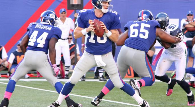 Eli Manning Retires Having Made More Money On The Field Than Every NFL Player In History