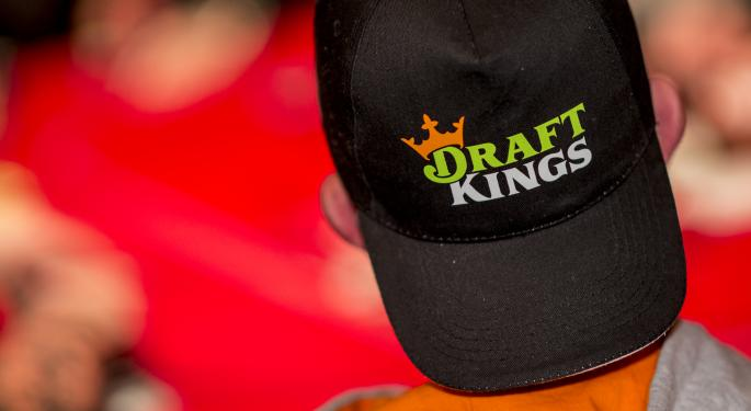 Analyst Says DraftKings Trades At 'Big Premium' To Other Growth Stocks