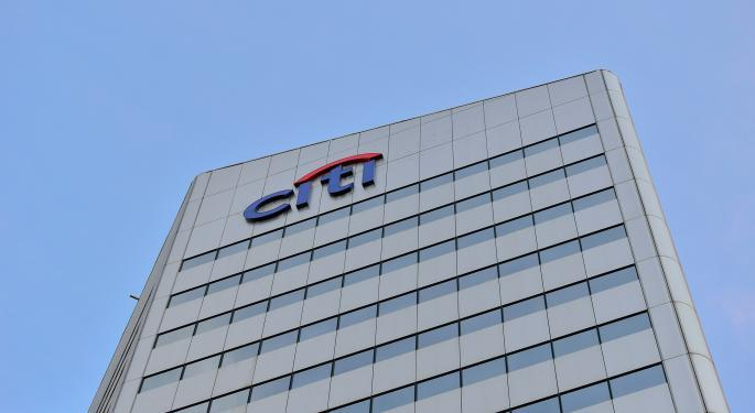 Here's How Much Investing $1,000 In Citigroup Stock 5 Years Ago Would Be Worth Today