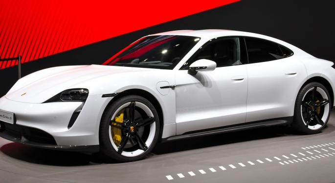 Porsche's All-Electric Model Secures 30,000 Deposits Ahead Of Its 2020 Launch