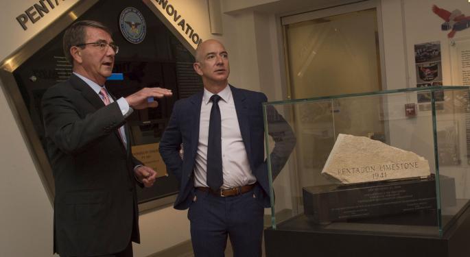 Jeff Bezos rompe el récord diario en subidas de patrimonio neto: Índice de Bloomberg