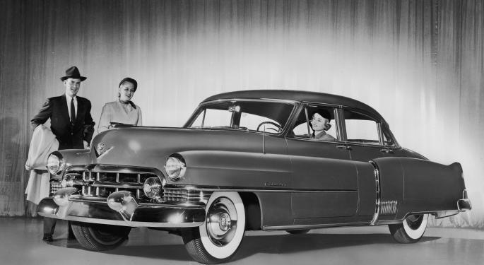 November Auto Sales Highest Since Recession