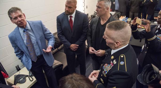 Vince McMahon Sells $100 Million Worth Of Stock, Has Eyes On Football Again