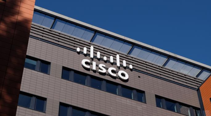 ¿Por qué Cisco cotiza a la baja hoy?