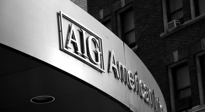 Why AIG Shares Traded Higher In Monday's After-Hours Session