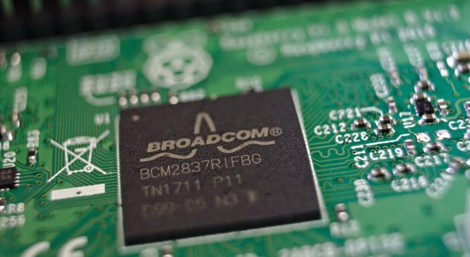 Broadcom Falls, But Analysts Optimistic Chip Demand Has Bottomed And Acquisitions Will Help