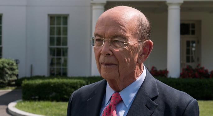 Secretary Of Commerce Wilbur Ross Accused Of Grifting $120 Million