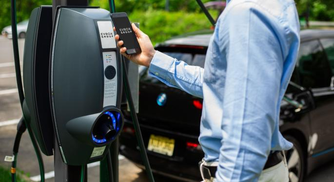 SPAC TPG Pace's Shares Surge 119% On Merger Deal With EV Charging Company EVBox
