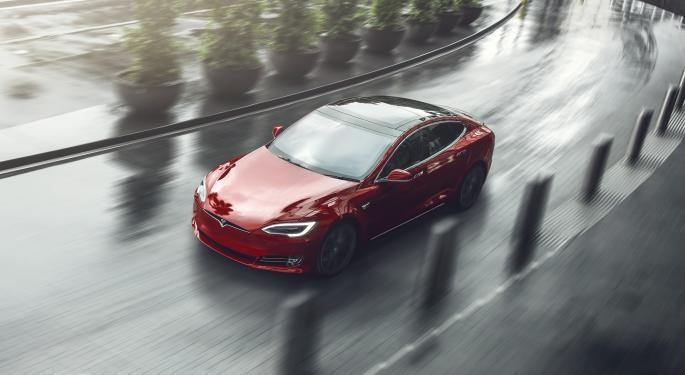 2021 Tesla Model S Refresh Spotted Leaving Test Track