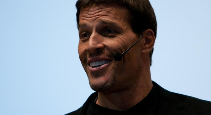 Tony Robbins On His New Book: 'Money Is Just A Game'