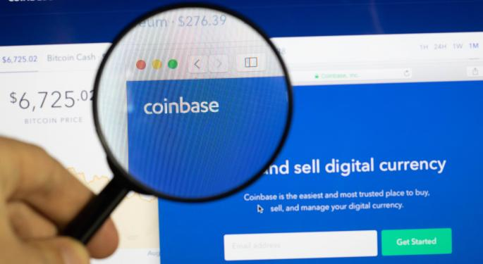 Coinbase Headed To $600 — Why Analyst Sees Crypto Exchange As 'Must-Own Stock' For Growth, Tech Buyers
