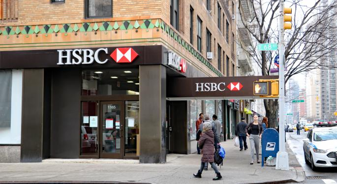 Why HSBC Shares Are Trading Higher In Tuesday's Pre-Market Session