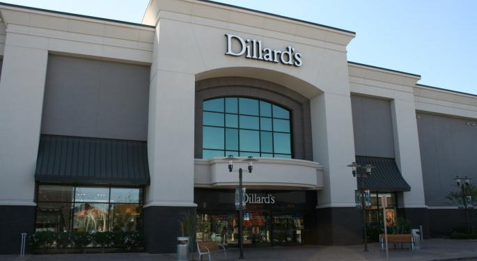 Why Dillard's Is Soaring Today