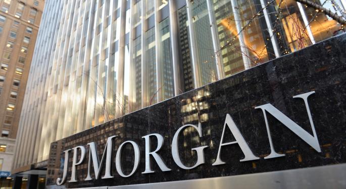 Barron's Recap: J.P. Morgan Is Back On Top