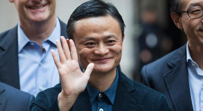 Alibaba's Jack Ma Says 'No Chance' Of Settlement With Kering