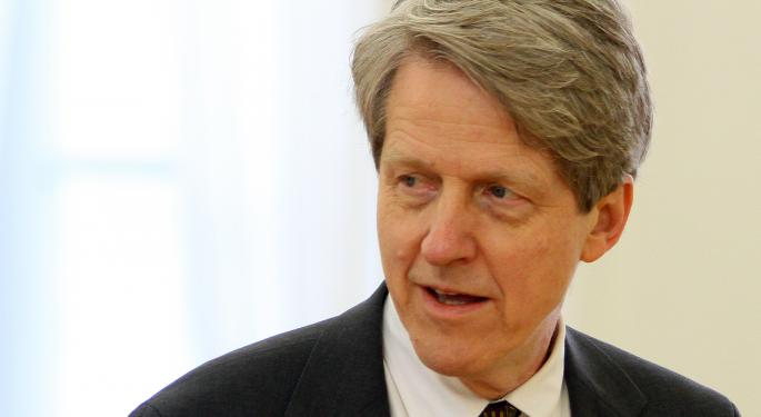 Robert Shiller Voices Concerns Over Current Valuations