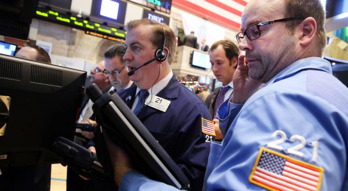 Mid-Morning Market Update: Markets Open Lower; CVS Health To Acquire Target's Pharmacy Business for $1.9B