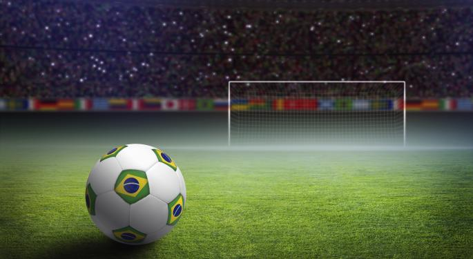 Brazil ETF Dropping The Ball, Ahead Of World Cup