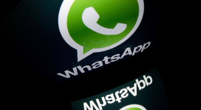 Facebook Announces $16B Merger With WhatsApp; Stock Falls