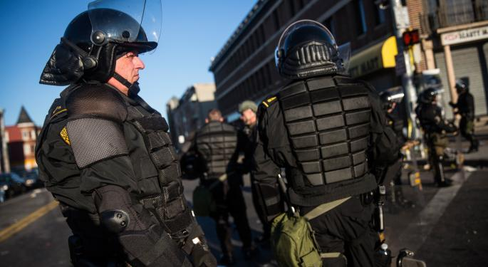 Taser, Digital Ally Moving Higher In Wake Of Baltimore Protests